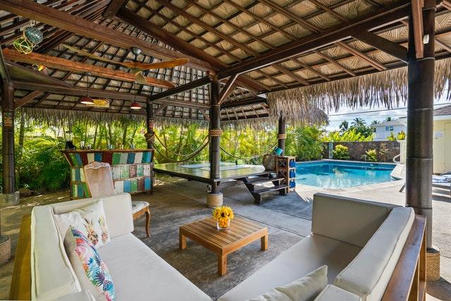 Outdoor Hawaii House Ko Olina